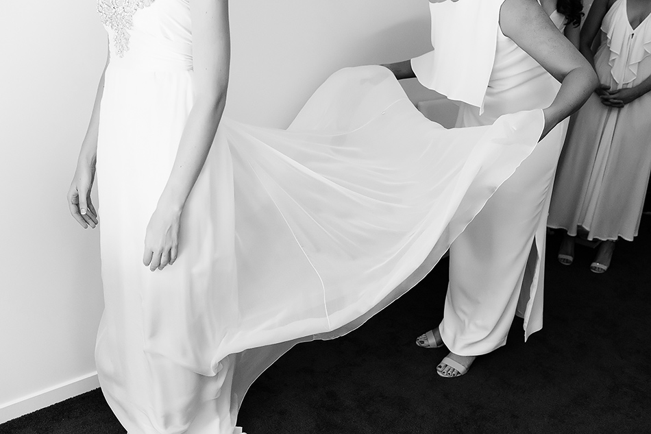 black and white weddng photography brisbane