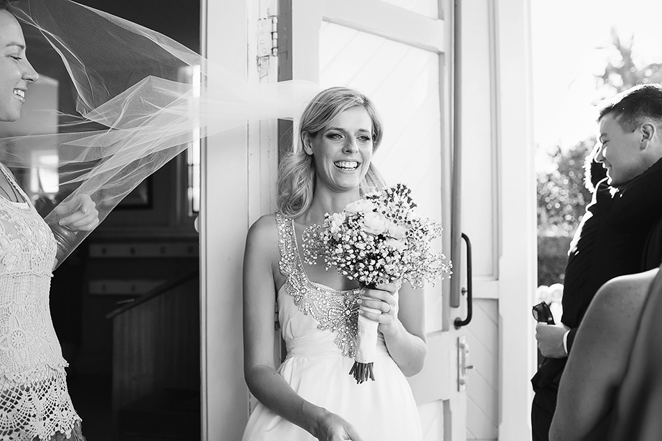 black and white wedding photographer brisbane wedding christ the king church brisbane