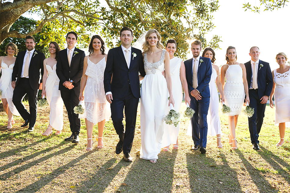 toowong rowing club brisbane wedding photographer cool wedidng photography with natural light and bridal party