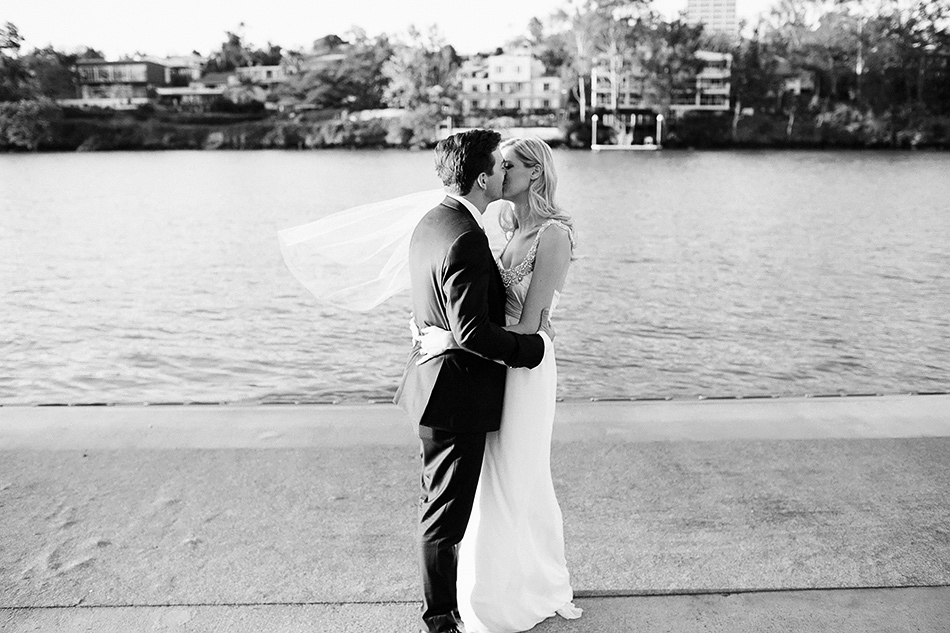 brisbane river toowong rowing club wedding photographer cool wedding portraits