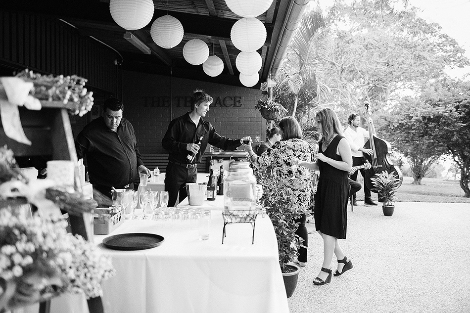 black and white wedding photographer brisbane wedding toowong rowing club
