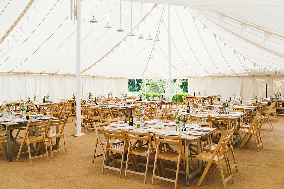 wedding photography in a tent or tipi festival wedding