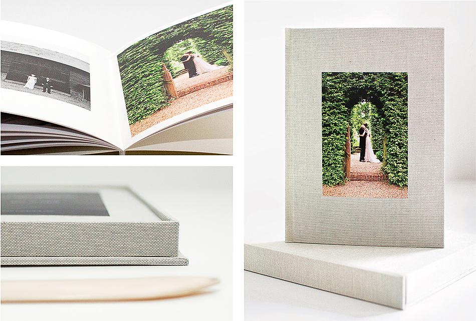 brisbane wedding photographer creative wedding photographer wedding album handcrafted wedding book made out of fabric