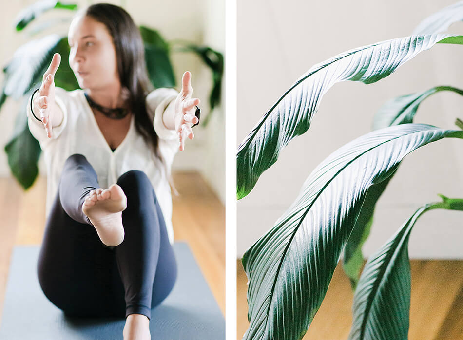 yoga photography branding photographer brisbane