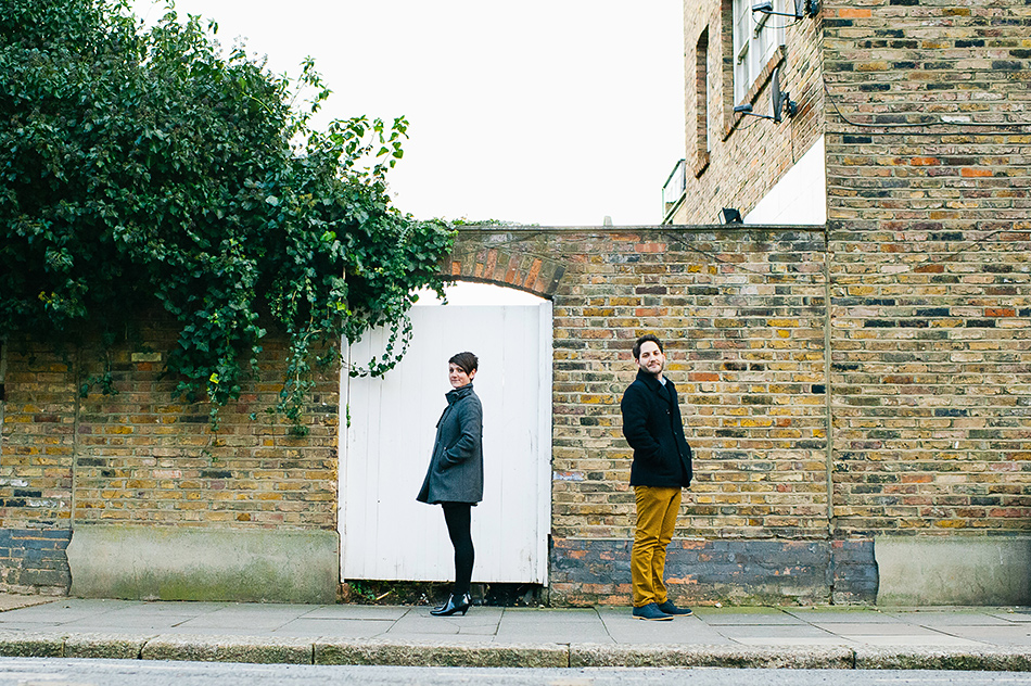 creative engagement pre wedding shoot finsbury park in the city street 0003