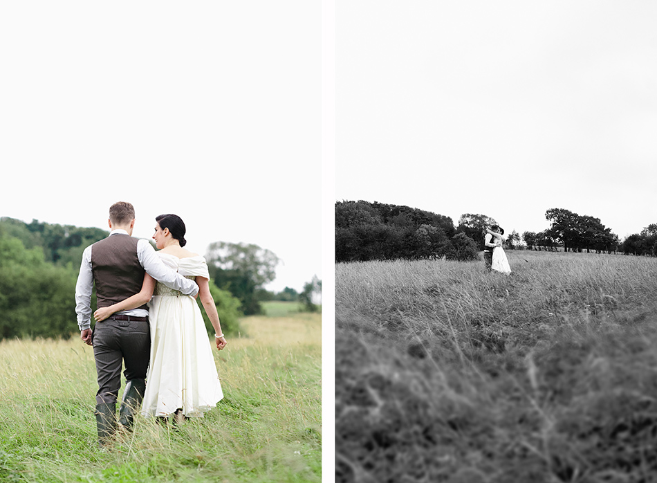 creative reportage wedding photography in a hall diy wedding farm style harrogate 0009